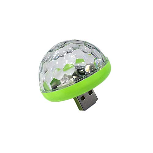 USB Small Size Magic Ball Lampe Berührungssensor Neon Sphere Car Interior Light grün USB -