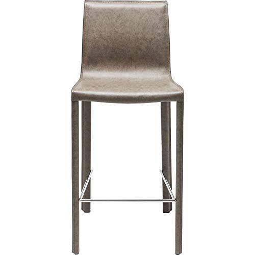 0b1dc508f2f Tabouret de bar Fino gris vert Kare Design