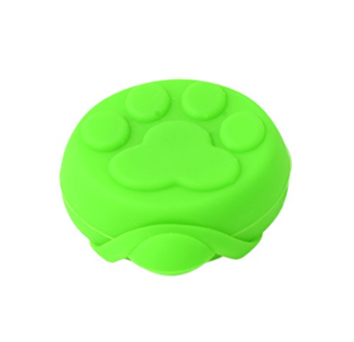 PRECORN LED Leuchtanhänger Silikon Leuchthalsband Led Hundehalsband in grün - 2