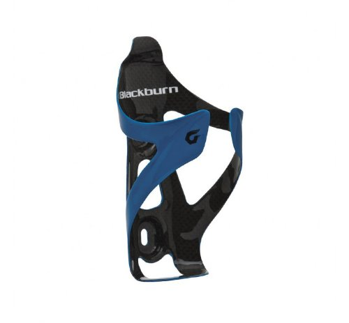 Blackburn Camber Carbon Fibre Bottle Cage Blue N/A, Gloss Blue [Sports]