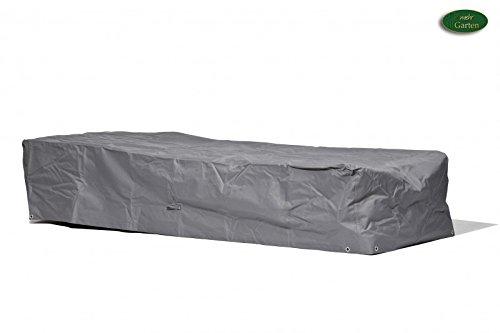 Schutzhülle Sonnenliege / Abdeckung Premium / wasserdichte Abdeckplane für Sonnenliege Gartenliege / Oxford 600D Polyestergewebe / mit Ventilationsöffnungen