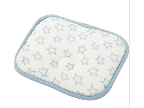 Godlife Almohada de bebé Baby Pillow New Born Baby Almohada de algodón y Cuello Suppor Sleeping Cushion (Love) para Dormir (Color : As Shown)