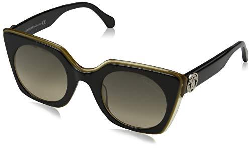 Roberto Cavalli Damen RC1068 05B 48 Sonnenbrille, Schwarz