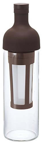 Hario Cold Brew Iced Coffee Filter in Bottle (650ml, Brown)
