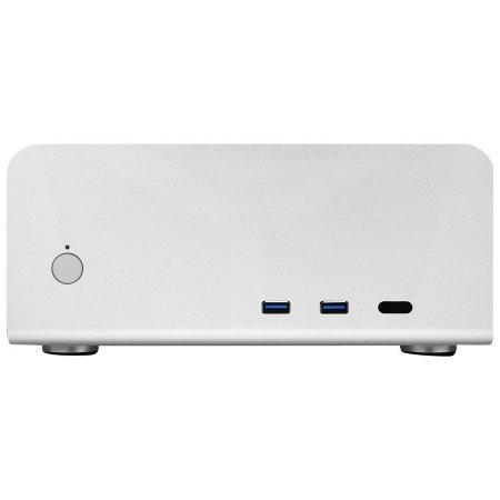 Streacom ST-FC8S-ALPHA Escritorio Plata carcasa de ordenador - Caja de ordenador (Escritorio, PC, Aluminio, Mini-ITX, Plata, 2.5,3.5