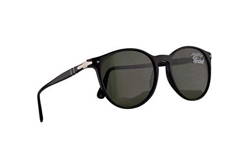 Persol 2454-S Sonnenbrille Schwarz Mit Grünen Gläsern 53mm 9531 PO 3228S PO3228S PO3228-S