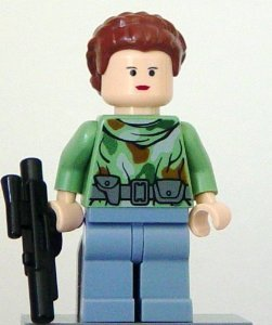 LEGO Star Wars: Princess Leia (Endor Tenue) Mini-Figurine