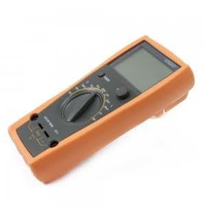 VC6243 3 1/2 Handheld Inductance Capacitance Tester LCD Multimeter Orange