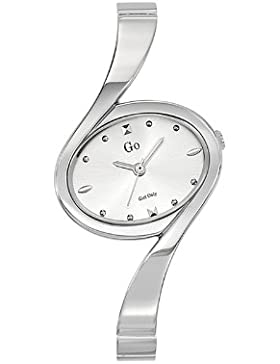 Go Girl Only 694755-Damen-Armbanduhr Alyce Quarz Analog Metall Silber