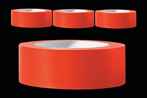 3 x PVC Schutzband glatt 30 mm PROFI Putzerband 33 m orange Putzband Bautenschutzband Putzer Klebeband Putz Abdeckband