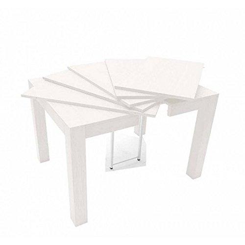 estea Meubles – Table en Bois de chêne Massif Extensible