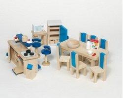 goki - Puppenhaus-Einrichtung Küche