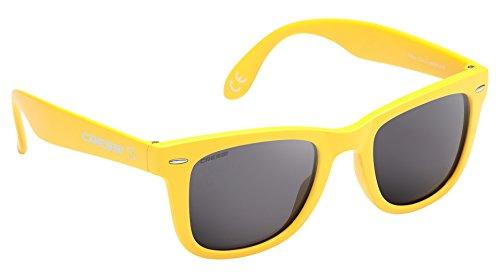 Cressi Tortuga Sonnenbrille, Gelb/Hellgrau Linses, One Size