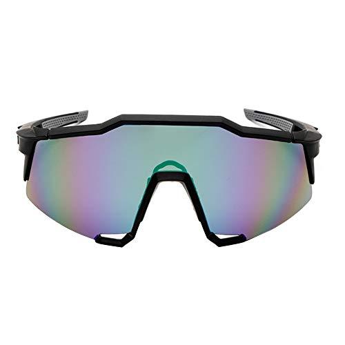 Duk3ichton Outdoor UV400 Polarized Radsportbrille Sonnenbrillen Fahrradbrillen Eyewear - Schwarz + Grün