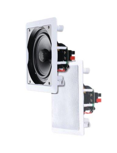EIN Paar 6,5 Zoll (16,51 cm)2-Weg 120W Wasserabweisender Decken-Lautsprecher von E-Audio