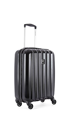 Revelation Jude – 4 Wheel Cabin Case Suitcase, 55 cm, 35 L, Black Maleta, liters, Negro (Black)