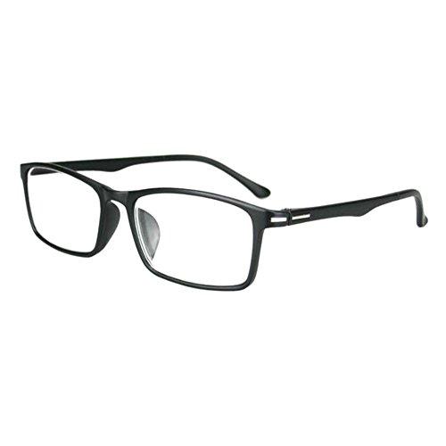 Zhuhaixmy Leicht Kurzsichtig Kurzsicht Brillen Kurzsichtigkeit Entfernung Eyewear Klar Resin Linsen -1.00 to -6.00 mit Hart Fall(Diese sind nicht Lesen Brille)