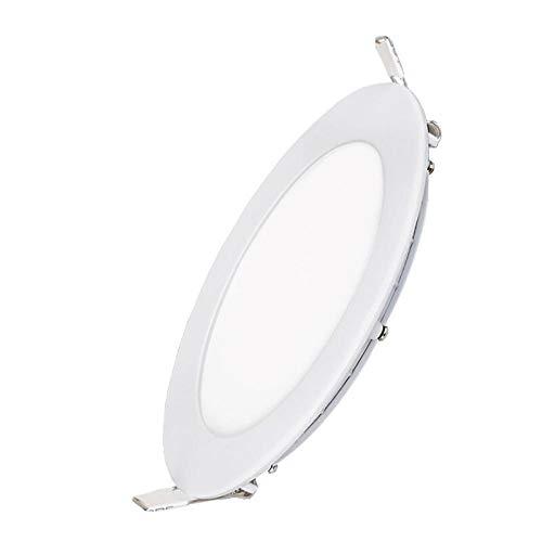 Downlight LED Panel empotrado Foco Foco redondo Barril Luz de techo Parrilla...