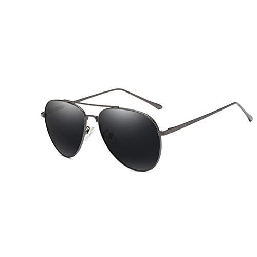 Brille MäNner Flut Retro Sonnenbrille Hd Polarisierte Sonnenbrille Auto Ohne Grad Sonnenbrille,B