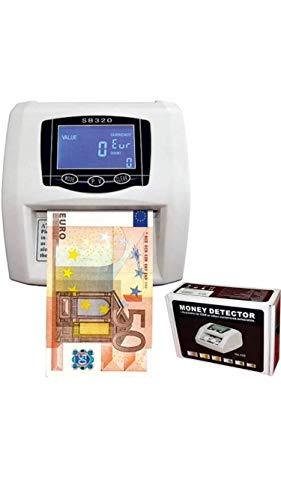Detector de billetes falsos contador nuevos billetes detecta y cuenta 2 en 1