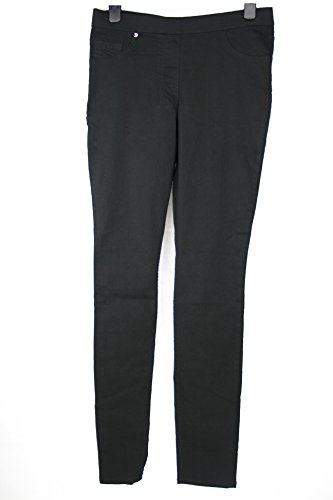 ladies-plus-size-hm-stretchy-jeans-blue-black-denim-skinny-jeggings-trousers-22-black