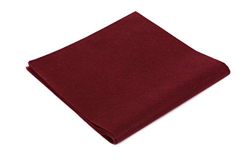 Tovaglie tnt - formato cm. 100x100 - confezione da 25 tovaglie in tessuto non tessuto - colore vinaccia - ideali per ristoranti, pizzerie, alberghi, trattorie, osterie, cene aziendali, buffet e congressi