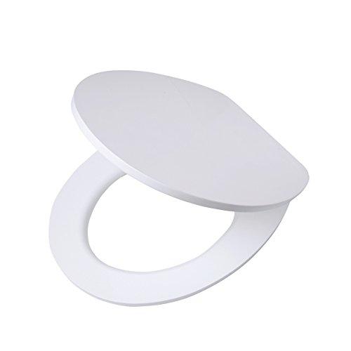 MSV 2108352-Sedile per WC in poliresina Grigio Colore