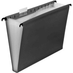 Foldersys Hängetasche A4 PP 12 Fächer grau