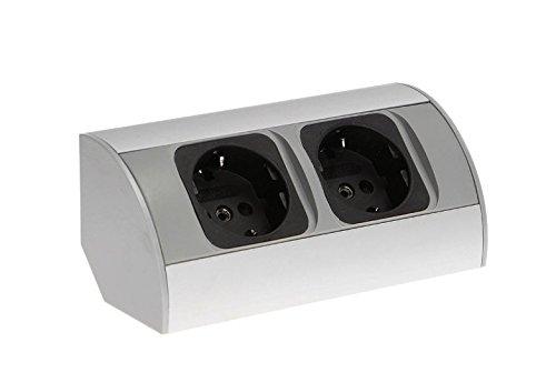 Küchen Steckdosen Möbel Schucko steckdose ecke Unterbausteckdose Aufbausteckdose Aufputzsteckdose küchen steckdosenleiste -