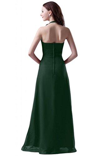 Sunvary modesta rosso Prom Fodero per abiti di donna 2015 Verde scuro
