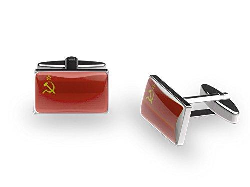 Cuffs 'N' Collars Dos dans l'URSS Boutons de manchette (avec boîte cadeau)