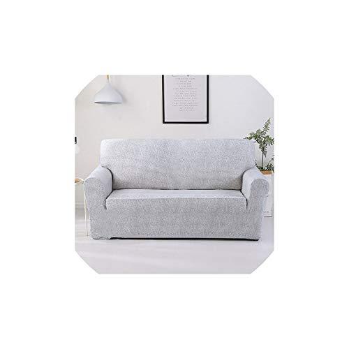 Mitta Yane slipcovers Blumenmuster-Sofa-Abdeckung Slipcover für Wohnzimmer elastische Feste All Inclusive Spitze-Rand-Muster, Magnolia, DREI-Seater -