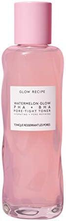Glow Recipe Watermelon Glow Pore-Tight Toner - Exfoliating Toner with Watermelon, BHA + Cactus Water for Unclo