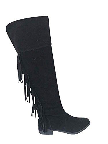 SKO'S, Damen Stiefel & Stiefeletten  mehrfarbig Black (402) -