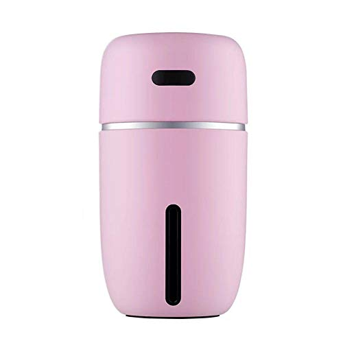 L'Miracle Home USB Coche humidificador atomizador Colorido Ambiente lámpara hogar Escritorio, Aire...