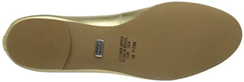 Buffalo London ZS 2590 VEGETAL PARAFINE Damen Geschlossene Ballerinas Gold (OURO 11)