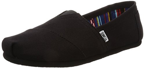 TOMS Men Alpargata Espadrilles, Black (Black on Black Canvas), 8 UK 42...