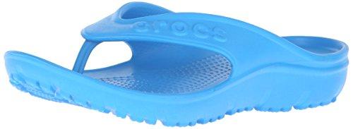 crocs Crocs Hilo Flip K Ocean, Unisex-Kinder Pantoffeln, 25-26 EU, Blau (Ocean 456)