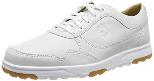 Footjoy Casual, Scarpe da Golf Uomo, Bianco (Blanco 54516m), 43 EU