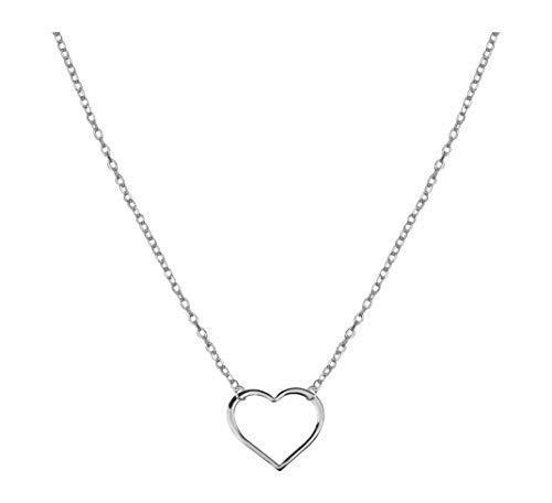 SOFIA MILANI Damen Halskette Herz Anhänger Silber 50183