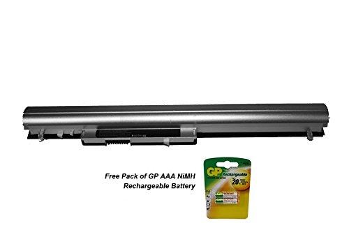 Ersatz Akku für HP–Compaq Pavilion g2a13ear Laptop inkl. gratis Packung AAA Batterien