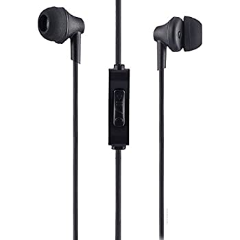 Sound One 616-P Earphones With Mic, 3.5 Mm Jack For All Android ,Ios Smartphones (Black)