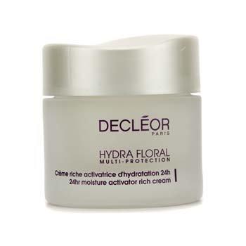 Decleor Hydra Floral 24hr Moisture Activator Rich Cream 50ml/1.69oz by Decleor