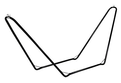 CAO Support hamac Adulte Unisexe, Noir, 300 x 72 x 110 cm