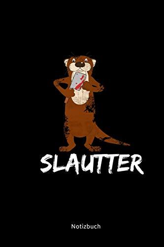 t Otter Wortwitz | Horror Halloween Otter Schlachtbeil Blut | Seeotter Fischotter Geschenke Gruslig ()