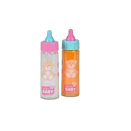 KSS 2 x Puppenflaschen Magic Flasche Zauberflasche Saft und Milch -