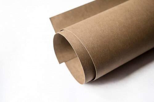 Zierstoff Qualitativ hochwertiges Snap Pap Papier in Schokoladel 75 x 98 cm zum Nähen von Accessoires und Taschen