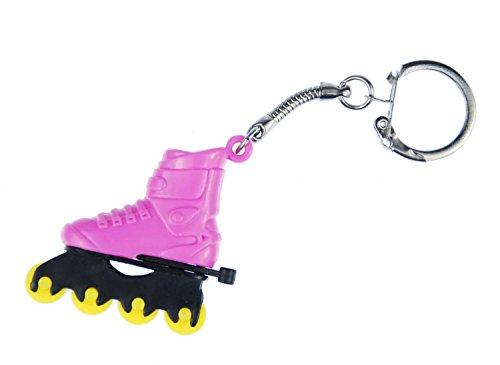 roller-blades-pattini-pattini-in-linea-portachiavi-miniblings-ciondolo-rosa