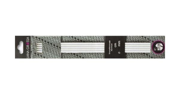 Lana Grossa Strumpfstricknadeln Karbon 15cm 3,5mm