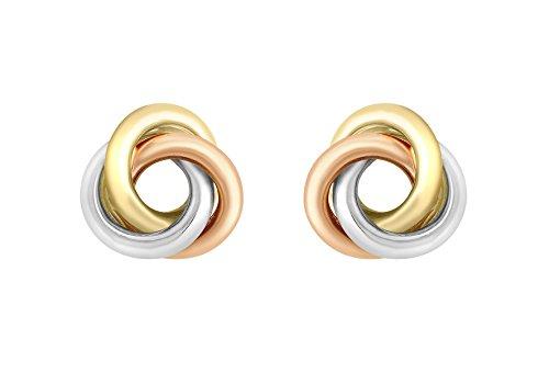Carissima Gold Damen - Ohrringe 375 Rundschliff Diamant 3.55.6749 Frau Moc